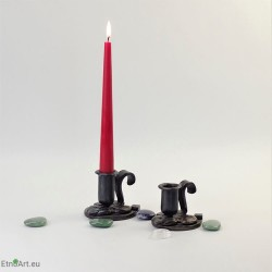 Handmade Candle StandCandlesticks on the table