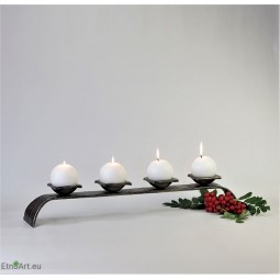 Advent CandlestickCandlesticks on the table