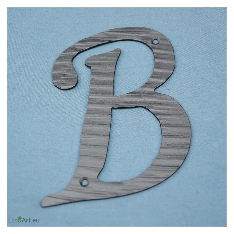 HOUSE LETTER B, 20cmHouse numbers and Flag holders