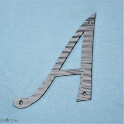 HOUSE LETTER A, 20cmHouse numbers and Flag holders